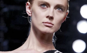 Helmut Lang Makeup, New York Fashion Week S/S 2012