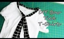 DIY: Bow Tied T-Shirts
