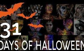 31 Days of Halloween Makeup Compilation