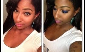 Bright Fun & Easy: Erica Dixon LHHATL Inspired Makeup