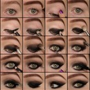 Pictorial: sexy smokey eyes