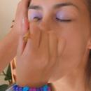 Me Doing Nadine's Makeup!