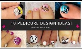 💕 Toenail Art Designs Compilation | Pedicure Compilation 💕