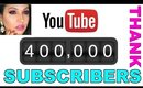 YouTube 400K Subscribers - THANK YOU!! | ShrutiArjunAnand