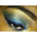 Blue/Green Shimmer