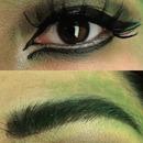 Medusa Makeup (EYE CLOSEUP