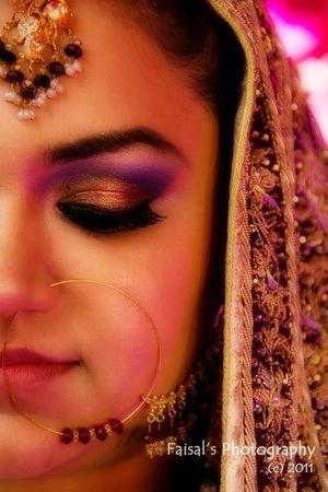 Wedding makeup!