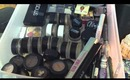 MAKEUP COLLECTION! + Dorm Storage (December 2012)