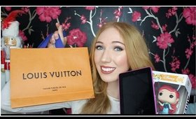 What I Got For My Birthday!..(& Christmas) | Louis Vuitton, Disney, Michael Kors...