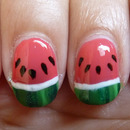 My Watermelon Nails