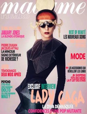 lady gaga - madame figaro