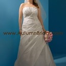 USD 320 Alfred Angelo 2082W Plus Size Dresses by www.AutumnBridal.com