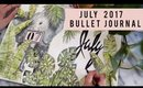 PLAN WITH ME | JULY 2017 BULLET JOURNAL | ANN LE 📝