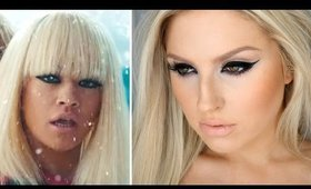 "Rita Ora ""Black Widow"" Makeup Tutorial ♡ Heavy Glam Cat Eye Liner"