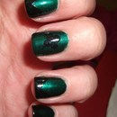Dark St. Patrick's Day Nails