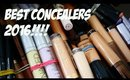 THE BEST CONCEALERS 2016!!!!