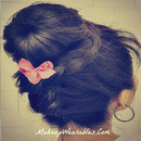 Sock Bun! Upside Down Braided Bun!  Lace braid!