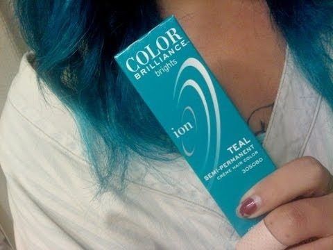 How To Review Ion Collor Brilliance Teal Aaron Demilune Video Beautylish