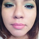 nicki minaj viva glam blue green spring look