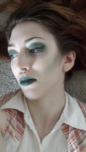here is another shot of my look based off the character Kanaya from Homestuck.