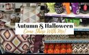 Come Autumn and Halloween Shopping With Me!