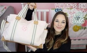 WHAT'S IN MY BABYS HOSPITAL BAG