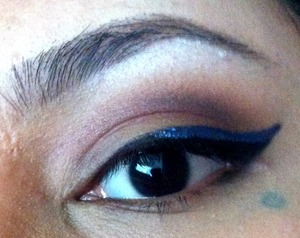 Something different to add to the usual winged eyeliner