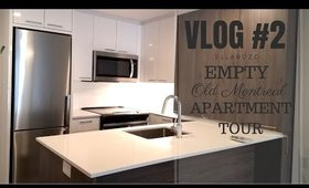 MOVING VLOG # 2 - PICKING UP THE KEYS TO THE NEW PLACE + EMPTY APT. TOUR