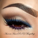 Coloful cat Eye