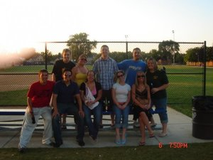 We had a small reunion for our 10-year 8th grade graduation. Our 10-year high school reunion in this summer! Yikes!