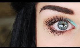 Peek-a-blue | Quick Spring/Summer Eyeshadow