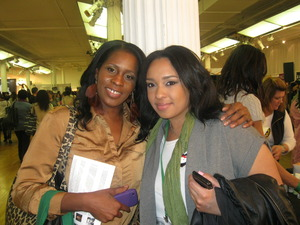 Me and Nini at the Makeup Show2011