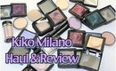 Kiko Milano Cosmetics | Haul & Review