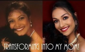 Transforming into my MOM | Divine Beauty By Sathi