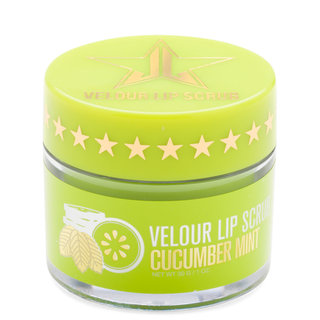 Velour Lip Scrub Cucumber Mint