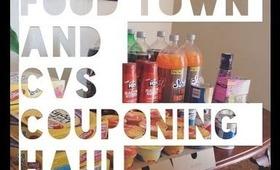 COUPONING HAUL : CVS & FOOD TOWN 2-12-13