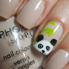 Peek-a-boo Panda Mani