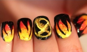 Hunger Games Katniss Fire Nails