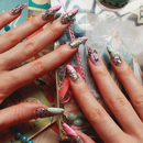 Spooky Pastel Manicure