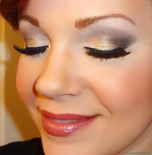 For more info on products used, please visit: http://www.vanityandvodka.com/2013/05/flirty-neutrals-with-pop-of-color.html xoxo! -Colleen