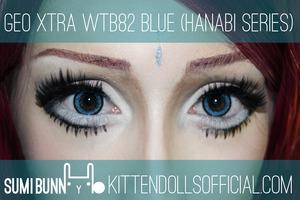 Product Used: Geo Hanabi Blue  http://sumibunny.kittendollsofficial.com/2013/10/28/geo-hanabi-series-blue/
