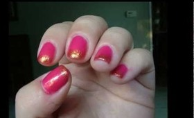 Losing the Pink & White: Part 1: Funky French Manicure