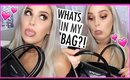 WHATS IN MY GIVENCHY PURSE 👜💕 LOTS of CRAP & Gross Stuff 😂