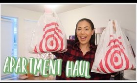 Target Shop With Me  + Apartment Haul