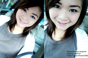 NEUTRAL MAKEUP. :)
