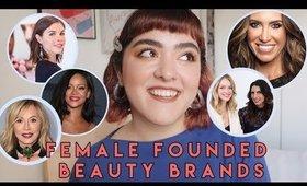 Full Face of Female Founded Beauty Brands