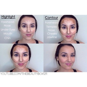 Contouring tutorial on my Youtube channel. Make sure to subscribe loves