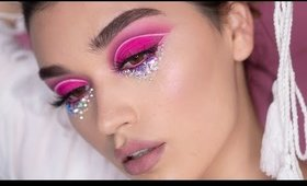 1 Eyeshadow Palette 5 Looks BPerfect Carnival palette look#4