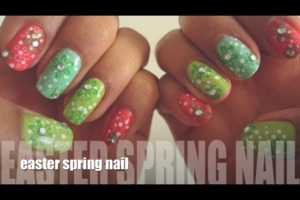 Hey guys check out my Easter Nail Tutorial !!!