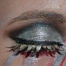 Broken Cyborg Makeup